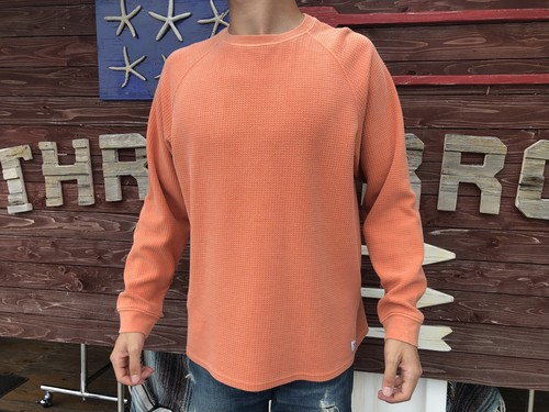 【BANKS】 PRESTON FLEECE (rust)