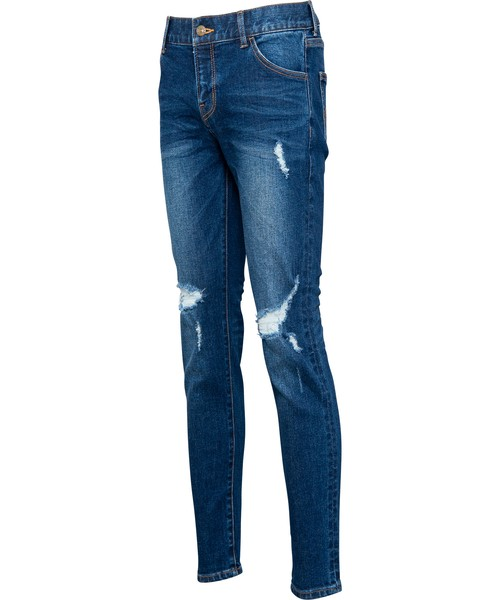 VINTAGE CRUSH SKINNY DENIM[REP060]