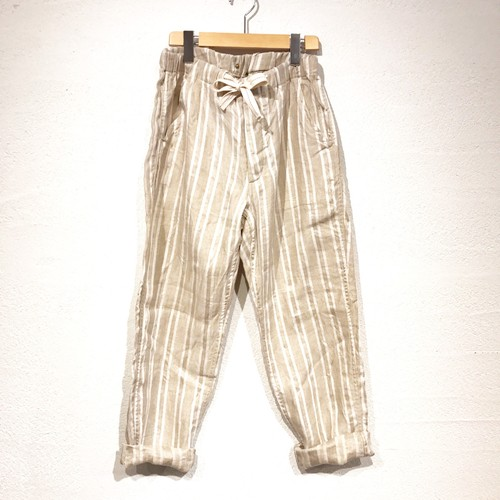 ANACHRONORM 『STRIPE LINEN EASY TROUSERS』(ANA183)