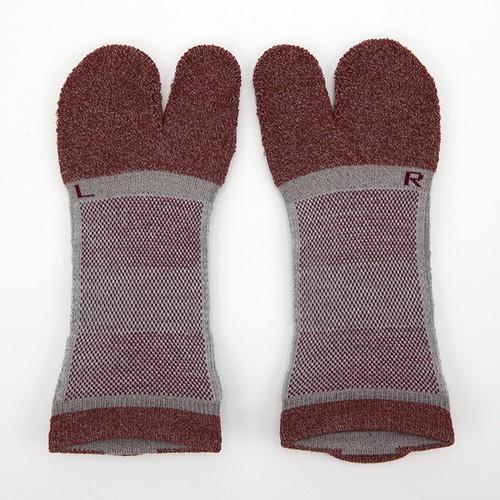 amitabi Low Socks 26-28cm(赤)