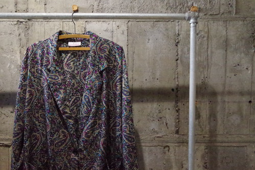 Design paisley tailored jkt(USED)