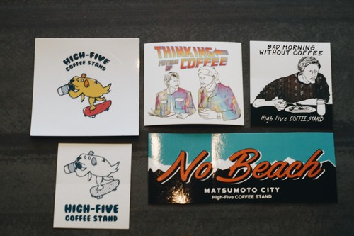 High-Five STICKER PACK ステッカーパック