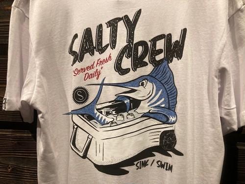 Salty Crew  Chillin  White  Mサイズ  51-222