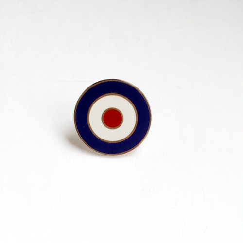 UK Tradition Pin Badge ラウンデル