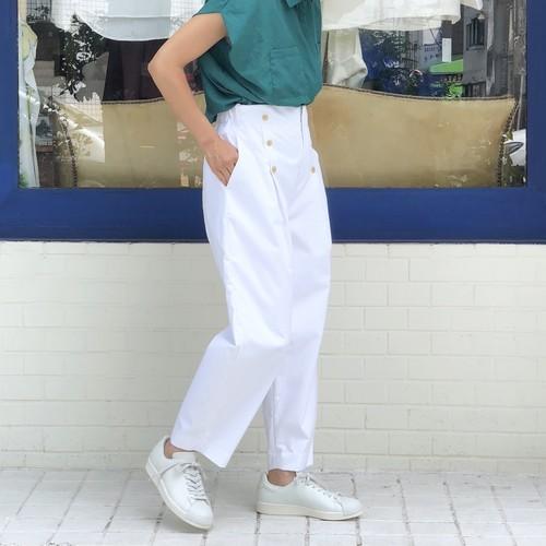 COCOON MARINE PANTS/WHITE