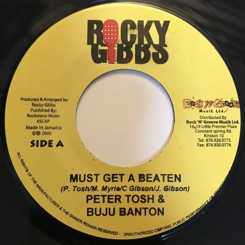 Peter Tosh & Buju Banton - Must Get A Beaten【7-10849】