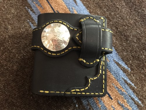 Layla half model black with 1881's Morgan dollar
