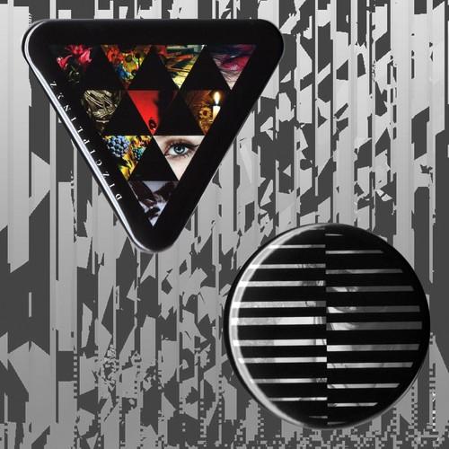 DΣ/VRI/Z can badge set #1【DIZCIPLINΣZ MOTIF】