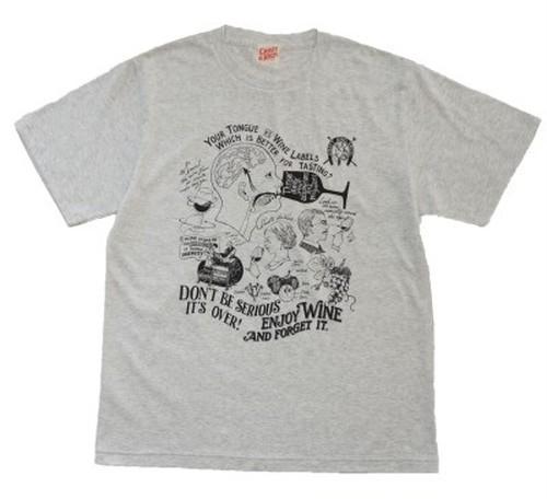 """WINE"" T-shirt OATMEAL"