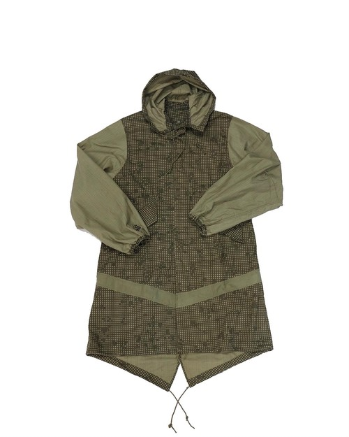 remake digital camouflage parka