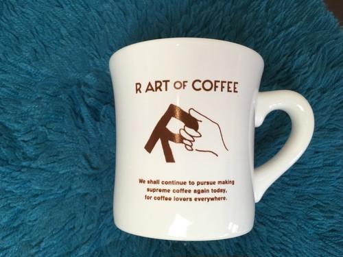 R ART OF COFFEE オリジナル マグカップ