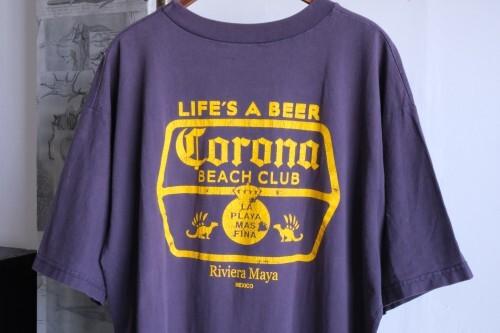90's Corona Beer Beach Club T-shirt