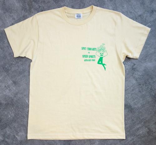 """velo spica international""  6.2oz Heavy Cotton T-shirts col.Natural"