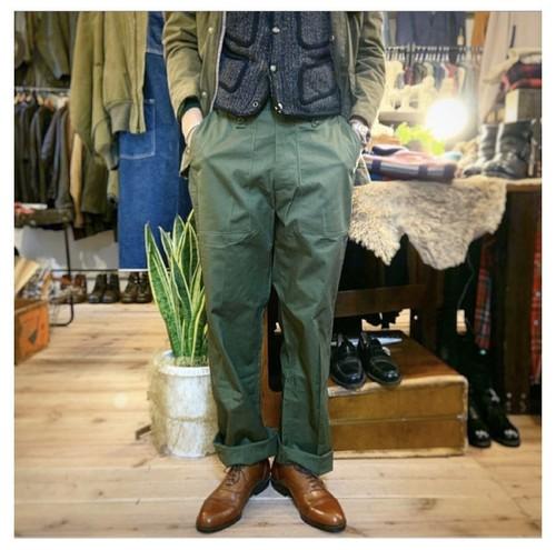 【size:38×31】British military Baker pants