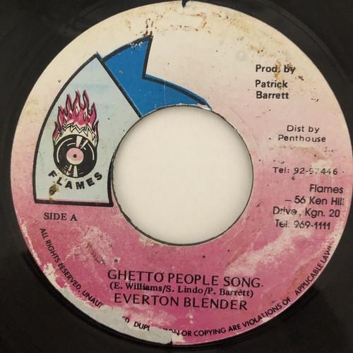 Everton Blender - Ghetto People Song【7-20520】
