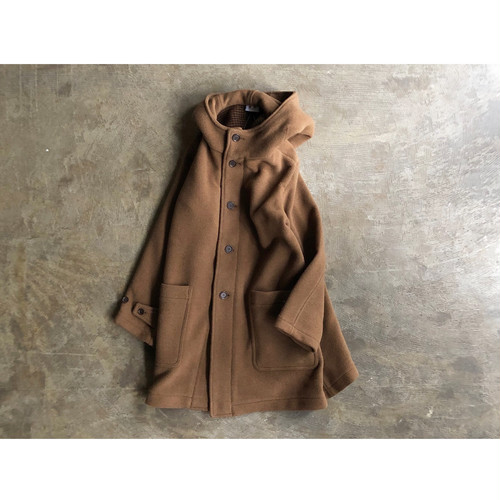 ARMEN(アーメン) 2019F/W New Color DOUBLE FACE HOODED COAT