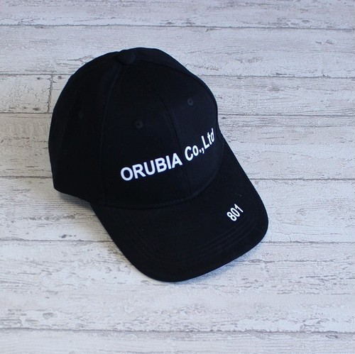 orubia official オリジナル ロゴ キャップ