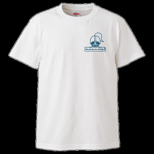 【支援Tシャツ】フェイスガード普及オリジナルデザイン