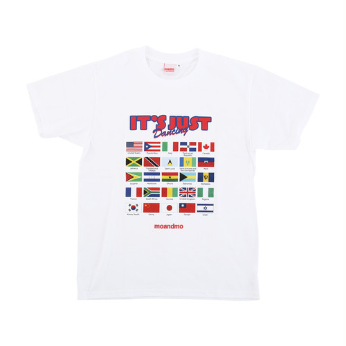 【Goods & Supply】It's Just Dancing Party Tee (FLAGS)