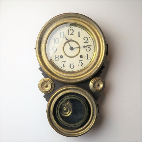 Ingraham イングラハム 四つ丸金時計 シャビー&ゴシックな風合い