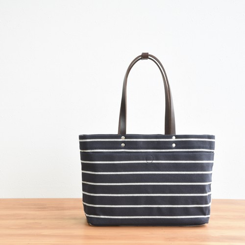 BORDER MAGAZINE TOTE S / DARK NAVY