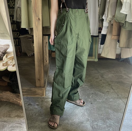 m-59 cargo pants/swedish army (dead stock)