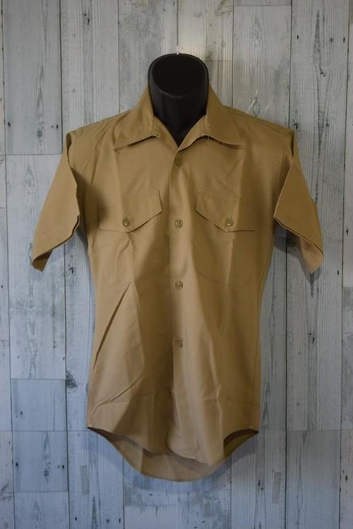 アメリカ輸入古着 ヴィンテージ ミリタリーシャツ(半袖)☆アメカジ古着ファッション