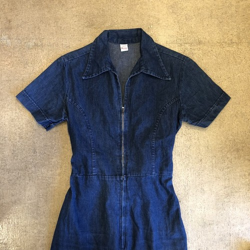Wrangler 70's Denim Rompers ¥13,200+tax