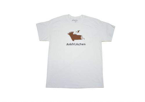 Ankhl Aches / Logo−tee [brown]