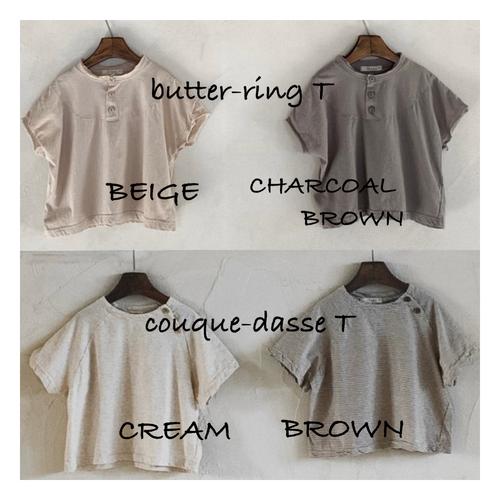 【予約販売】★お得★butter-ring × couque-dasse T-shirt〈anggo〉