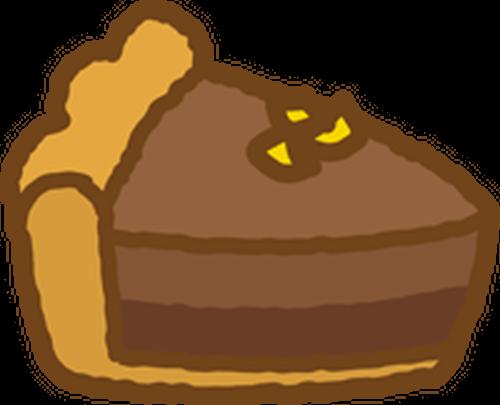 無料チョコレートタルトa022png イラストショップくま商用利用ok