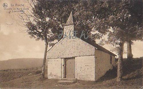 古絵葉書エンタイア「チャペル」(1909年)