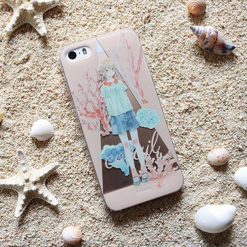 iPhone case:corail(珊瑚)