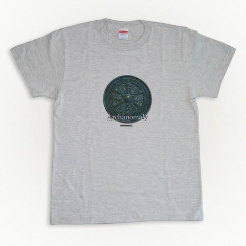 考古異物Tシャツ 三角縁アマビエ神獣鏡