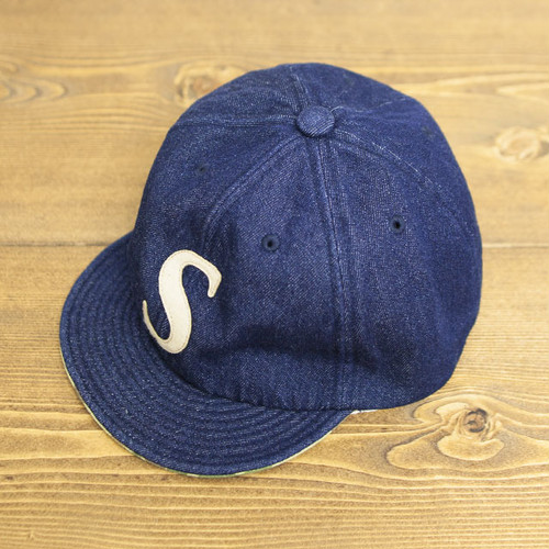 【SOLD OUT】COOCHUCAMP : Happy Cap / S : One wash denim