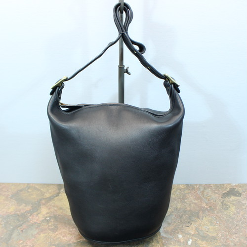 .OLD COACH BACKET TYPE LEATHER SHOULDER BAG MADE IN USA/オールドコーチバケツ型レザーショルダーバッグ 2000000030579