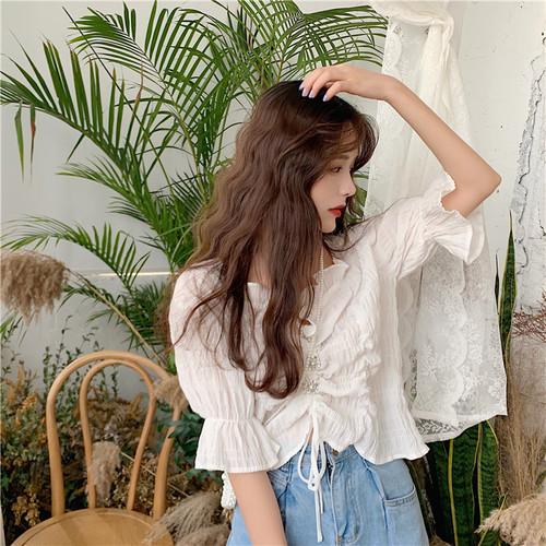 chiffon summer blouse