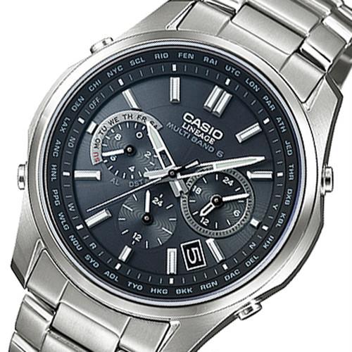 カシオ リニエージ 電波 ソーラー 腕時計 LIW-M610TDS-1AJF ブラック 国内正規 ブラック