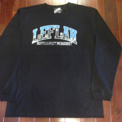 "LEFLAH / レフラー |  "" MOUNTAIN ""  LS-Tee / Black"
