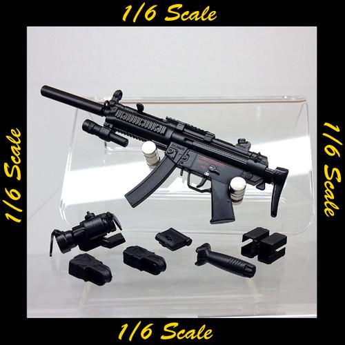 【01960】 1/6 ZYTOYS MP5A5 TL99 サブマシンガン