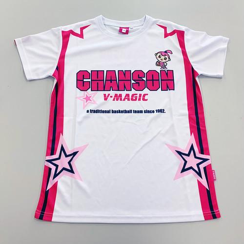 Tシャツ(ホワイト・サイドライン)