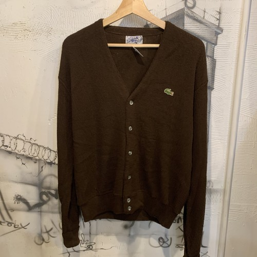 LACOSTE one point cardigan