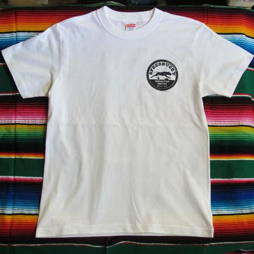 SPEEDBUGGY オリジナルロゴ Tシャツ WHT