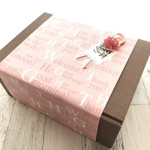 花時計用BOX 紙箱