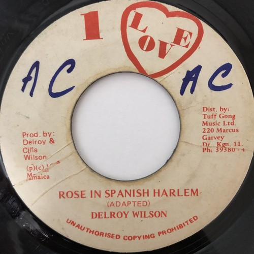 Delroy Wilson - Rose In Spanish Harlem【7-20633】