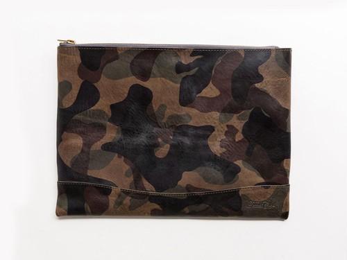 トワクレClutch Bag迷彩グレー
