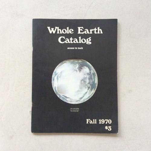 Whole Earth Catalog Fall 1970(ホールアースカタログ)
