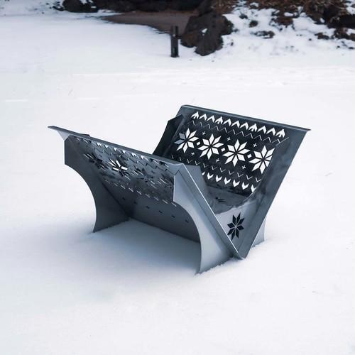 『NORDIC』FRONTISTAR 焚き火台 フラット