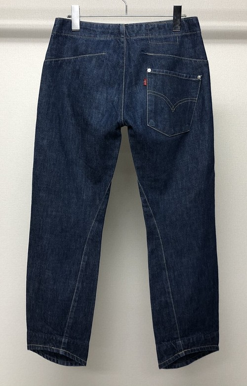 2000s EURO LEVIS TAILORED DENIM TROUSERS