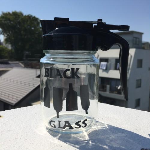 うそみたいなオオカワガラス  - BLACK GLASS -